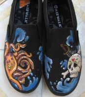 Pirate's Life Shoes by SophieDragon