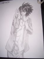 Death Note- L by losergirl0912