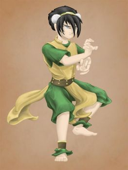 Toph Bei Fong from Avatar by IndigoOtter