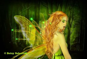 My Sad Fairy Of the Night... by betsymail