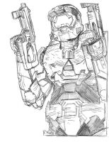 Master Chief 063 by jessemunoz