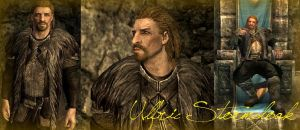 Skyrim - Ulfric Stormcloak by ExtremeMusic148