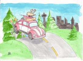 Slug bug by thomasofseattle