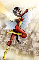 Spider-Woman I by MachSabre