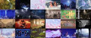 Wallpaper pack - Various by Orioto