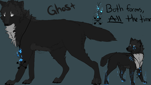 Ghost Reference Sheet by Allixi