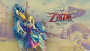 Skyward Sword Wallpaper3 by CaroQuest