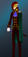 Halloween 2k13: Merman Tux by black4sapphire