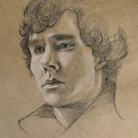 Sherlock Benedict Sketch by ChinMa