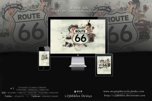 Route 66 by y2jhbkfan
