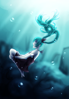 Deep Sea Girl by SisleyLovesKiro