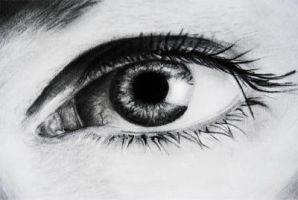Eye Drawing by slippy88