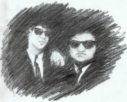 The Blues Brothers by VictorDrake