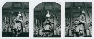 Steampunk Train Polaroids by S-T-A-R-gazer
