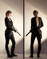 Female Agent STOCK VI by PhelanDavion