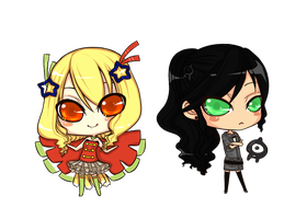 Chibis by The-Noodles