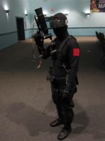 2014 Sukoshi Con, Day 2 Snake Eyes by AxelHonoo