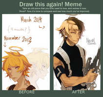 Draw this again meme [Nox ver.] by faluu
