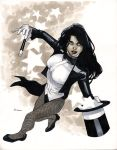 Zatanna - Comic Con Paris 2012 by MahmudAsrar