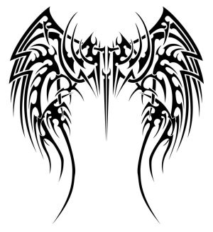 Free Tattoos Pictures With Wings Tribal Tattoo Designs Arts Gallery Picture