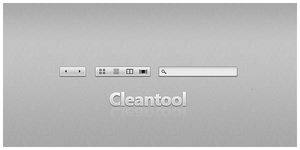Toolbar Cleantool psd by phs2