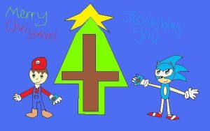 Mario and Sonic: Christmas by sonicman10