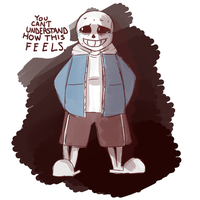 Sans. by Winglesses