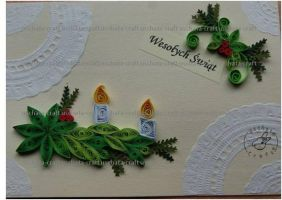 Quilling - Card 32 by Eti-chan