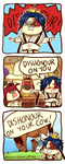Magi: Dishonour on your cow by aeriuu-chan