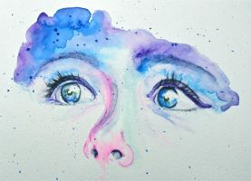 Behind Blue Eyes by african-artist