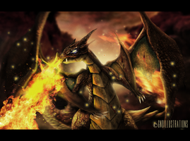 MEGA CHARIZARD by GNDillustrations