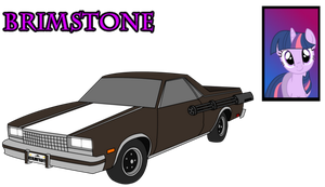 Twisted Metal: Equestria - Brimstone - by Silnev