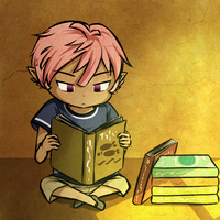 Bookworm by Icy-Snowflakes