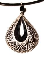 Black and white pendant by OlgaC
