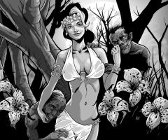 The Queen of Ghouls by Mumah