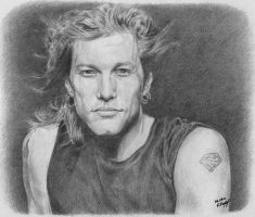 Mr. Bon Jovi by Worldinsideart