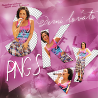 PNG PACK (162) Demi Lovato by DenizBas