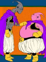 Buu Vs Buu by Joker-DeLarge