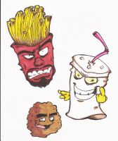 Aqua Teen Hunger Force by OpticBlast00