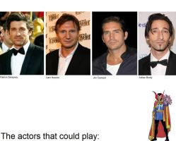 The actors that could play: Dr. Strange by SteveIrwinFan96