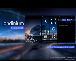 Londinium Theme WP8.1 by saracennegative