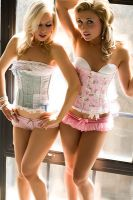 Hello Kitty Corsets by prettyboyswearpink