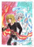 Deathnote-The Triplicities by AuchanVriconella