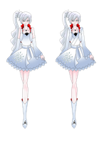 Darling Army Pinafore entry 3#: Weiss Schnee by chi171812