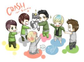B.A.P 21 Crash feat. Brownie by syewe-yoss
