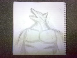 Werewolf, short haired by shaman-from-serbia