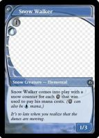 MtG: Snow Walker by Overlord-J