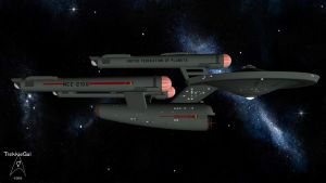 2260-2206 USS Federation NCC-2100 by TrekkieGal