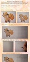 drawing tutorial: proportions by Leviana