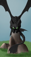 Toothless by frostystar